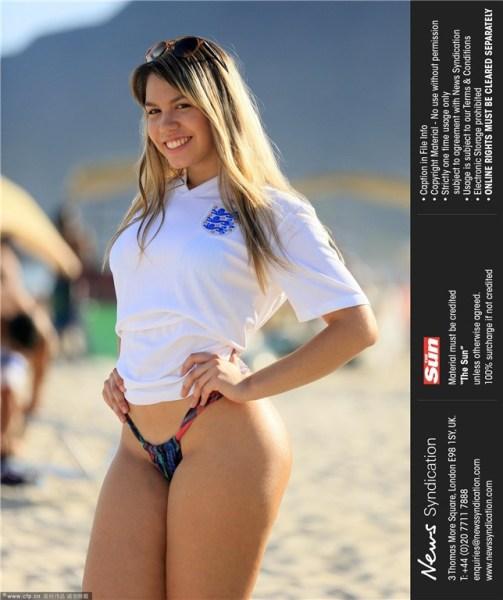 2014年巴西世界杯美女性开放竞风流