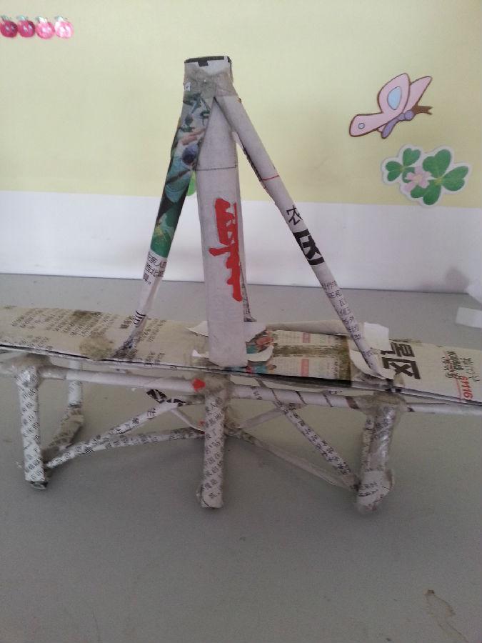纸桥的设计与制作