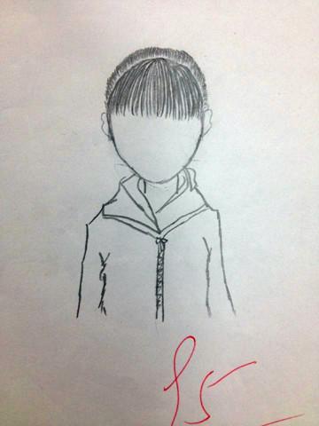 学生作业展---手绘线条图像(二)